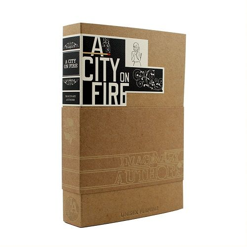Imaginary Authors - a city on fire box